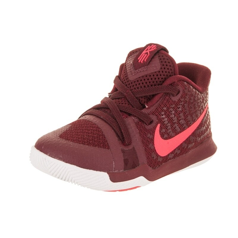 Nike Toddlers Kyrie 3 (TD) Basketball Shoe (7), Boy's, Re...