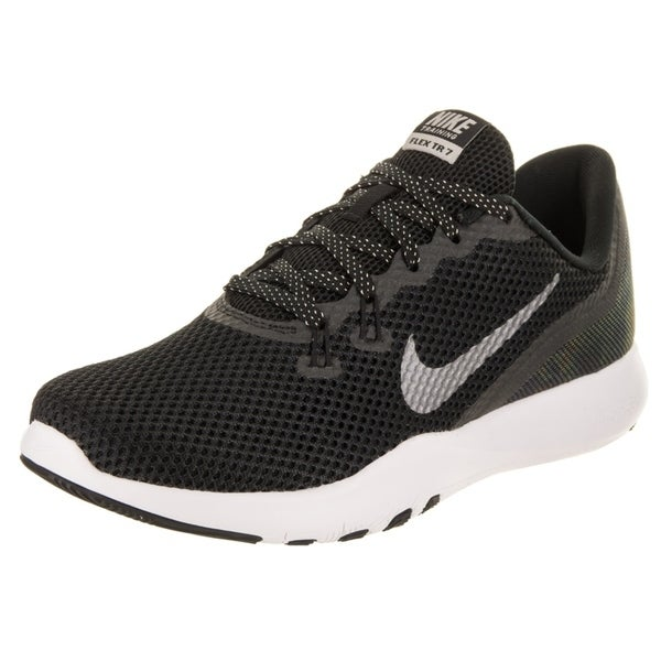 28a8c75ece8c9 Shop Nike Women s Flex Trainer 7 Mtlc Training Shoe - Free Shipping ...