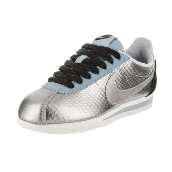 quality design 3c4dd f94fd Shop Nike Women's Classic Cortez Leather Premium Casual Shoe - Free ...