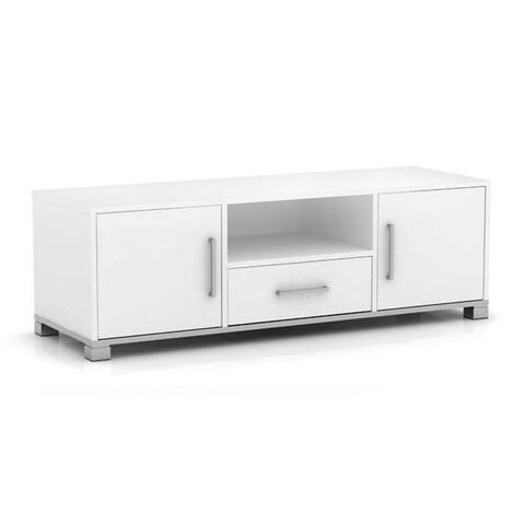 Sorento Entertainment Cabinet White 2 Doors 1 Drawer