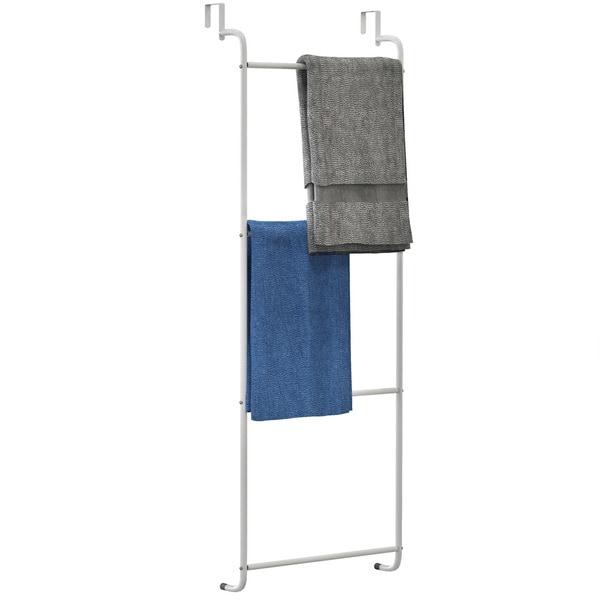 Overdoor Towel Rack and Clothing Hanger