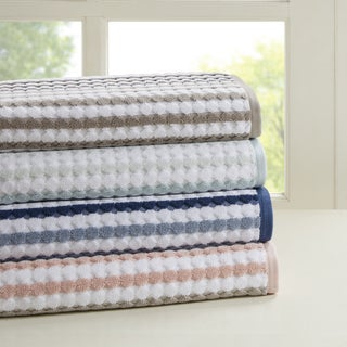 Madison Park Lancaster 6-piece Cotton Yarn Dyed Towel Set