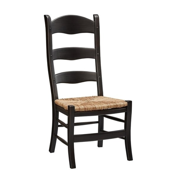 Shop Gancia Ladderback Chair (Set Of 2)   Free Shipping Today   Overstock    20221099
