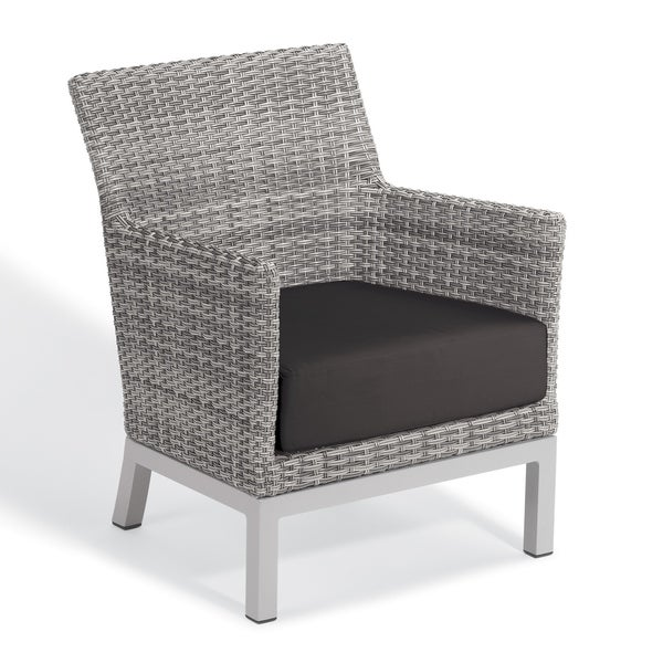 oxford garden argento resin wicker club chair with powder coated