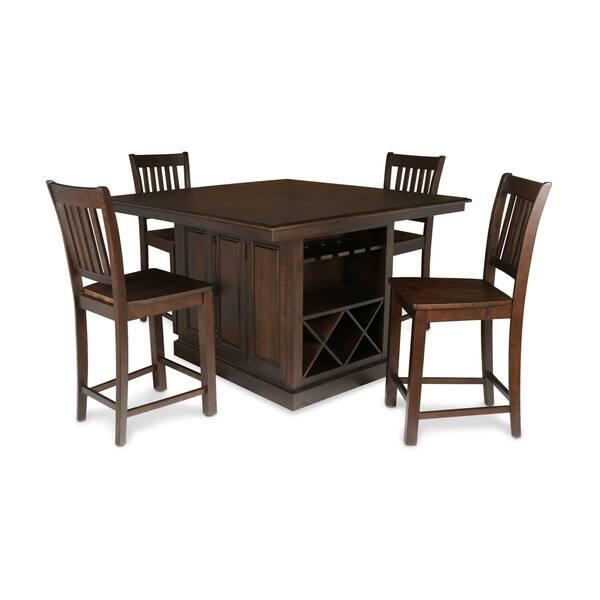 Fabulous Shop San Juan Aged Espresso Counter Height Chairs Set Of 2 Creativecarmelina Interior Chair Design Creativecarmelinacom