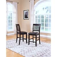 Kaylee Espresso Counter Height Chairs (Set of 2)