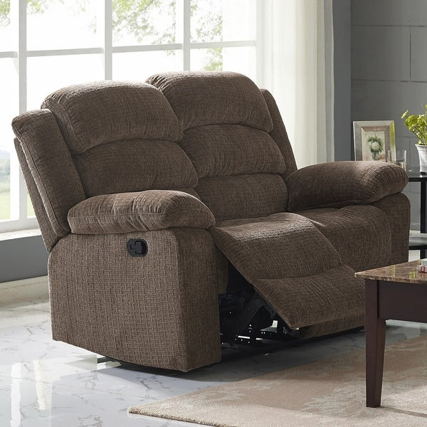 leather furniture drop reclining down dual console recliner burgundy meridian sofa bonded gramercy