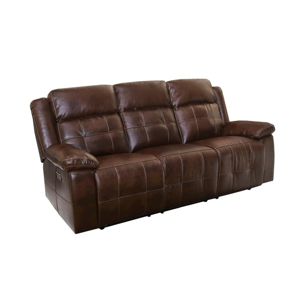 Clayton Pico Penny Full Recliner Sofa With Headrest