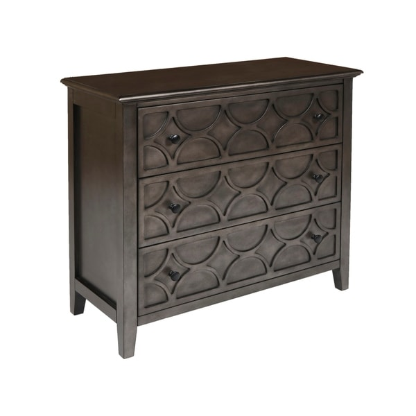 Slate Coffee Table With Drawers: Shop Lucia Slate 3-drawer Console Table