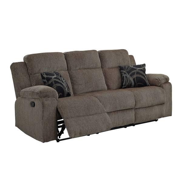 Sensational Shop Burke Mystery Ebony Dual Recliner Sofa Free Shipping Cjindustries Chair Design For Home Cjindustriesco