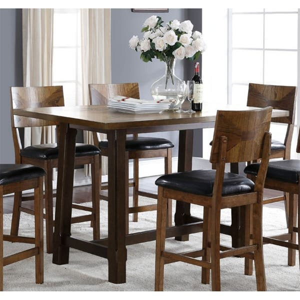 2c8c67cdd5737a Shop Gillian Two-tone Oak Counter Height Dining Table - Free ...