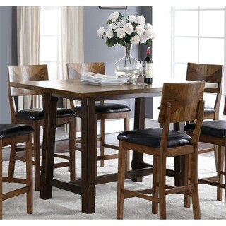 Gillian Two-tone Oak Counter Height Dining Table