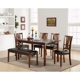 Dixon Dark Espresso Standard Table 6-piece Set Dining