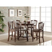 Bixby Espresso Round Counter Height Dining Table