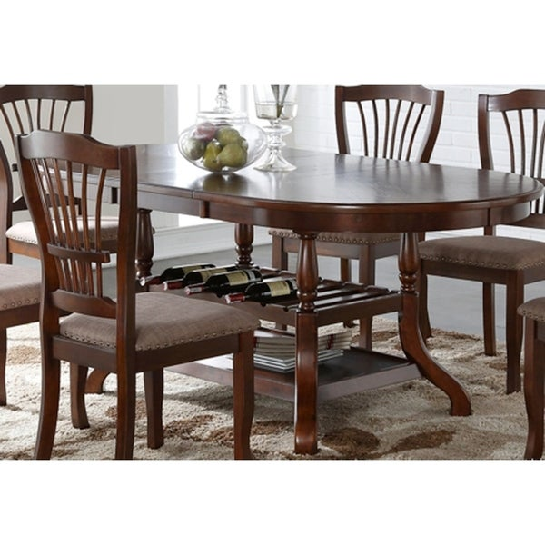 Dining Tables Online: Shop Bixby Espresso Oval Dining Table