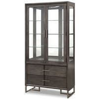 Proximity Heights Contemporary Curio China Cabinet