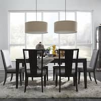 "Proximity Heights Contemporary Extendable Dining Table - smoke anthracite - 40"" l x 68"" w x 30"" h"