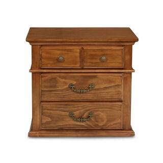 Cumberland Antique Pine 4-drawer Nightstand