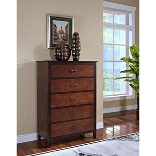Bishop Ginger and Chestnut 5-drawer Chest