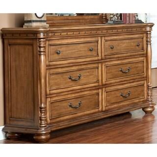 Bastion Aged Umber 6-drawer Dresser