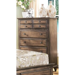 Fallbrook Weathered Brown 5-drawer Chest