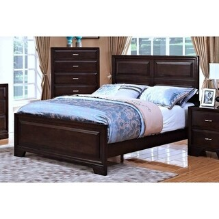 Garrett Chestnut Raised Panel King Bed