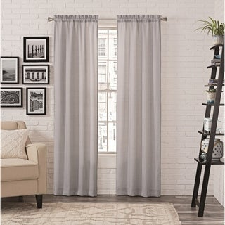 Porch & Den Brown Pairs to Go Teller 2-pack Window Curtains