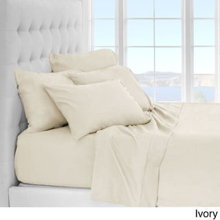 Clay Alder Home Lost Luxury Premium 1800 Series Ultra-Soft Collection Sheet Set - Deep Pocket (More options available)