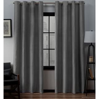 Clay Alder Home Sugar Creek Grommet Top Loha Linen Window Curtain Panel  Pair (More Options
