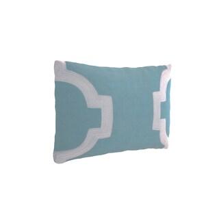 Clay Alder Home Cornish Embroidered Decorative Pillow