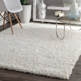 Link to Strick & Bolton Quinn Solid Shag Rug Similar Items in Shag Rugs