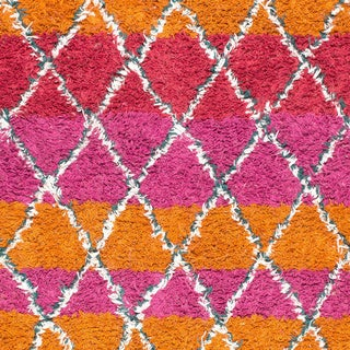 Porch & Den Sutter Hand-knotted Wool Shag Rug (multi - 5 x 8)