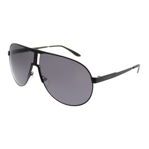 Carrera Aviator New Panamerika/S 3 Unisex Matte Black Frame Grey Lens Sunglasses