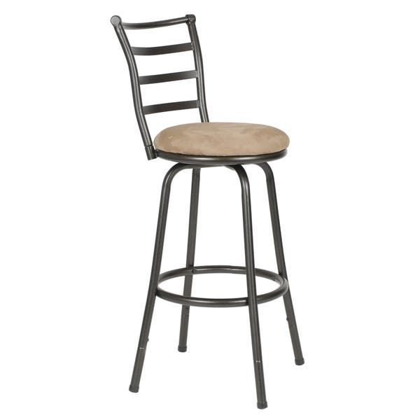 Super Shop Round Seat Adjustable Swivel Bar Counter Height Stools Caraccident5 Cool Chair Designs And Ideas Caraccident5Info