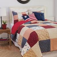 Samuel Patchwork Cotton Quilt Set