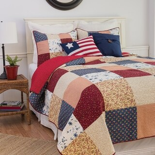 Samuel Patchwork Cotton Quilt Set
