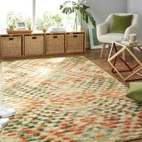 Palm Canyon Sunview Multicolor Diamond Area Rug - 8' x 10'