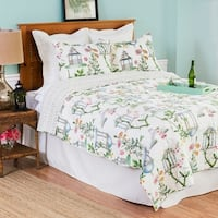 Garden Folly Quilt Set