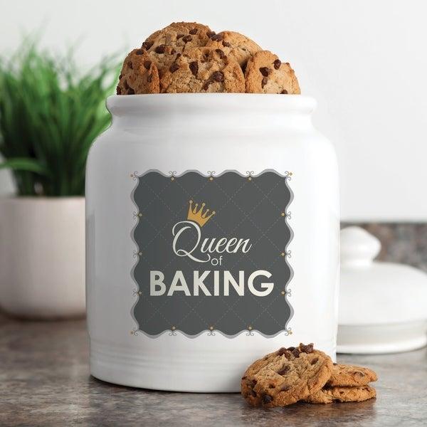 Queen of Baking Cookie Jar
