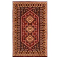 Mohawk Home Prismatic Bryant Traditional Aztec Border Area Rug (5' x 8') - 5' x  8'