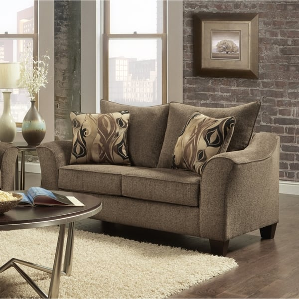 Shop Camero Fabric 4-Piece Living Room Set - On Sale - Free ...