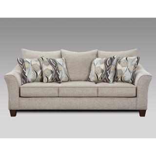 Camero Fabric Pillowback Sofa