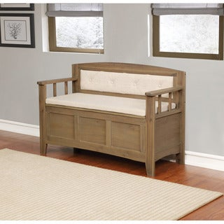 Brittani Padded Storage Bench