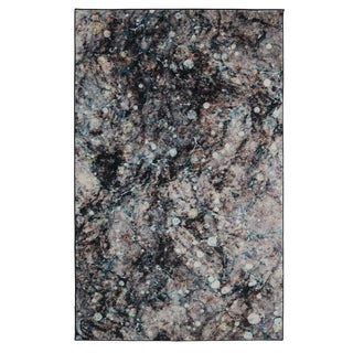 Carbon Loft Pinckney Layered Marble Abstract Area Rug - 5' x 8'