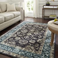 Copper Grove Jawadhu Bordered Medallion Area Rug - 8' x 10'