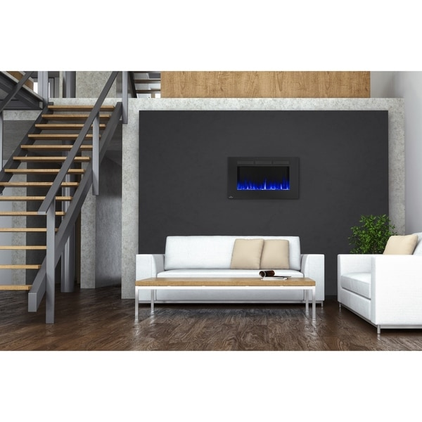 Shop Napoleon Allure 42 Inch Wall Mount Electric Fireplace Free