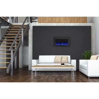Napoleon Allure 42-inch Wall Mount Electric Fireplace