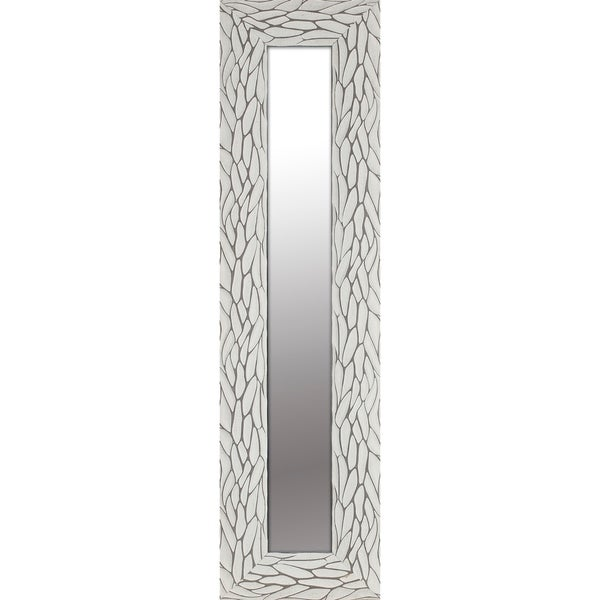 Shop 9 5x35 5 White Bark Deocrative Wall Mirror Set Of 3