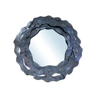 "Handmade Baldwin Mirror - 30"" x 30"""