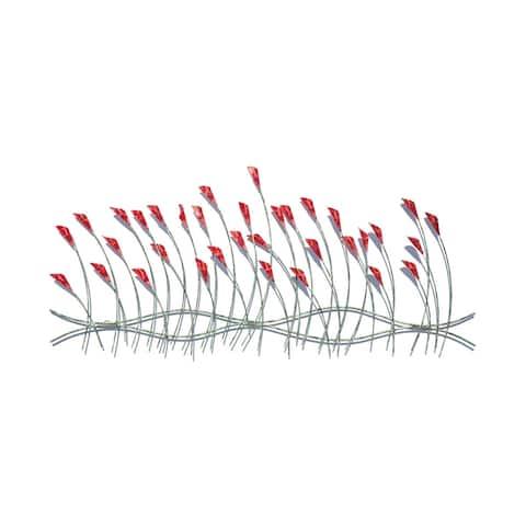 Handmade Spring Flowers Wall Art